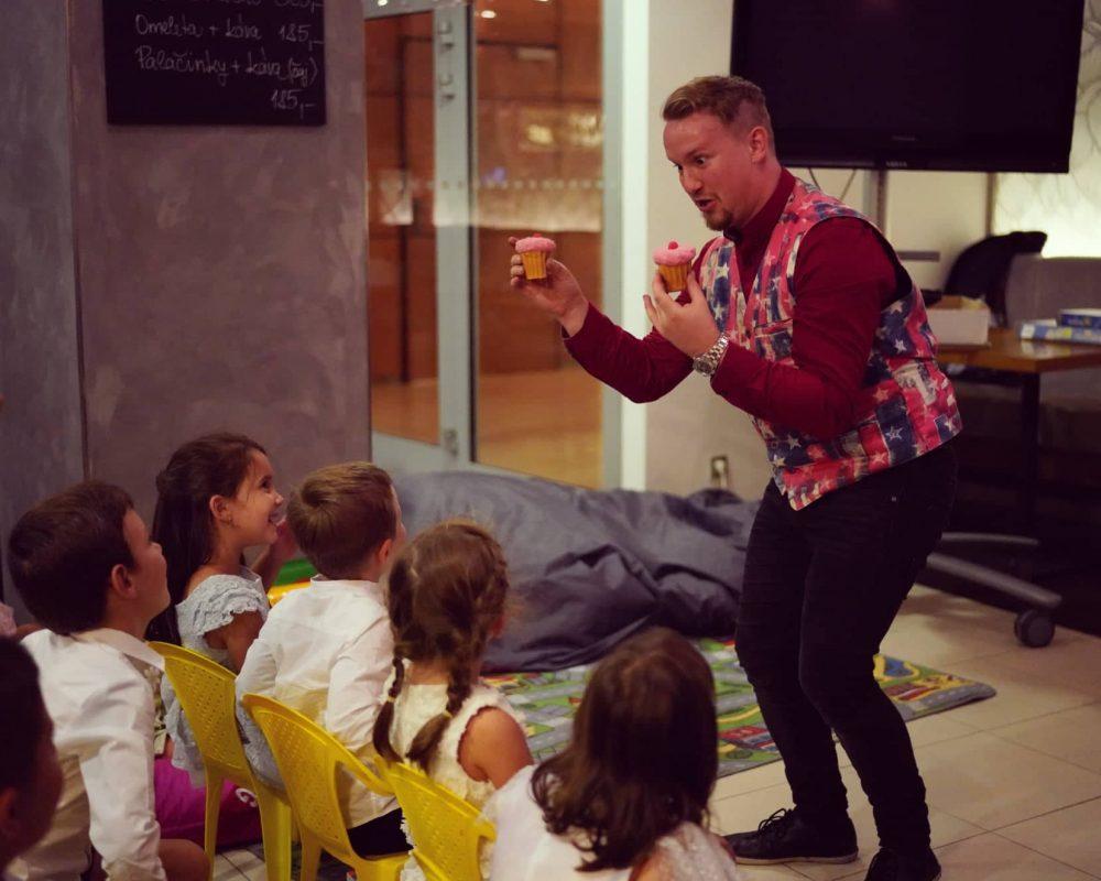 Kouzelník pro děti, vystoupení pro děti